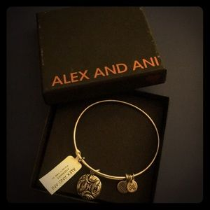 ALEX AND ANI Pisces Charm Bracelet New with Tag